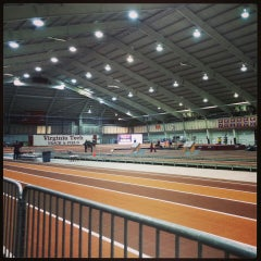Photo taken at Rector Field House by Ryan H. on 1/17/2014