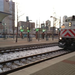 Photo taken at Victory Station (DART Rail / TRE) by Gordon S. on 12/26/2012