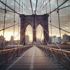 Photo taken at Brooklyn Bridge by Shirleen L. on 3/3/2013