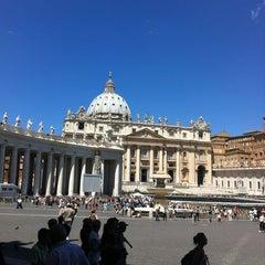 Photo taken at Piazza San Pietro by Marusya on 6/25/2013
