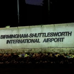Photo taken at Birmingham-Shuttlesworth International Airport (BHM) by Mark P. on 12/11/2012