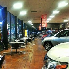 Photo taken at Penske Toyota of West Covina by Frank G. on 1/19/2013