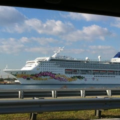 Photo taken at Norwegian Sky by Savannah D. on 1/25/2013