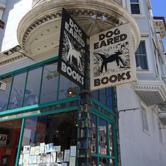 Photo taken at Dog Eared Books by Mario V. on 5/27/2014
