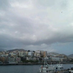 Photo taken at Port Of Crete by Jeffrey B. on 3/26/2013