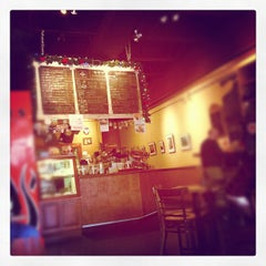 Photo taken at Espresso Milano by peter l. on 12/22/2012