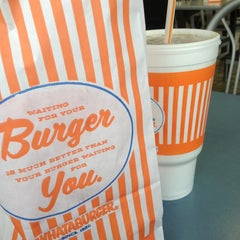 Photo taken at Whataburger by Bill C. on 3/21/2013