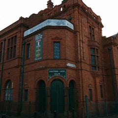Photo taken at Salford Lads Club by Chris C. on 11/30/2013