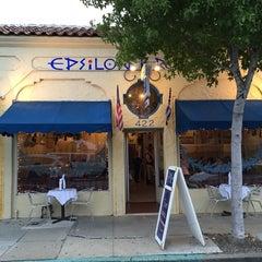 Photo taken at Epsilon Fine Greek Restaurant by Douglas James I. on 9/21/2014