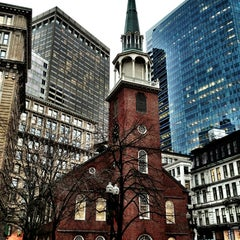 Photo taken at Old South Meeting House by Castle on 12/27/2012
