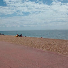 Photo taken at Folkestone by Nerijus M. on 6/8/2014