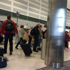 Photo taken at Gate A29 by Mary Beth G. on 1/31/2015