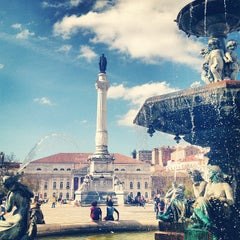 Photo taken at Rossio by Nelson R. on 4/15/2013