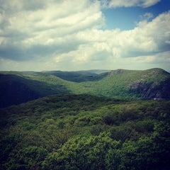 Photo taken at Bull Hill Trail by Christine D. on 5/12/2013