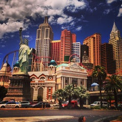 Photo taken at New York-New York Hotel & Casino by Carl F. on 7/22/2013
