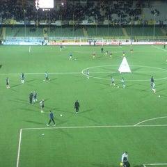 Photo taken at Orogel Stadium Dino Manuzzi by Nikolas S. on 4/12/2013