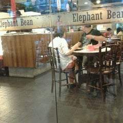 Photo taken at Elephant Bean Cafe by Kina Y. on 2/12/2013
