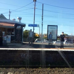 Photo taken at Ringwood Station by Faizul M. on 10/19/2014