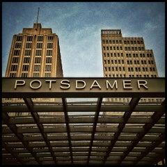Photo taken at Potsdamer Platz by Thomas U. on 12/5/2012