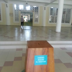 Photo taken at Masjid Al-Hidayah by Putra T. on 10/24/2012