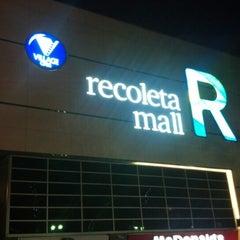 Photo taken at Recoleta Mall by Santiago M. on 12/8/2012