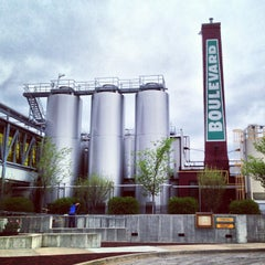Photo taken at Boulevard Brewing Co by Randy J. on 4/26/2013
