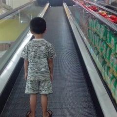 Photo taken at Carrefour by wenang g. on 5/11/2014