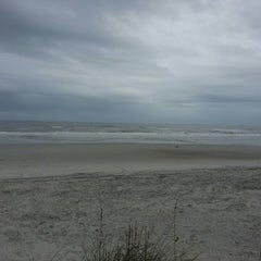Photo taken at Jax Beach At South 15th Ave by Chris Topher R. on 11/16/2013