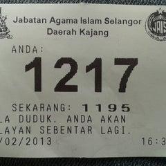 Photo taken at Pejabat Agama Islam Daerah Hulu Langat by aris r. on 2/13/2013