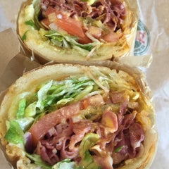 Photo taken at TOGO'S Sandwiches by Michael Y. on 10/26/2015