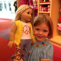 Photo taken at American Girl Boutique & Bistro by Eric H. on 10/26/2014