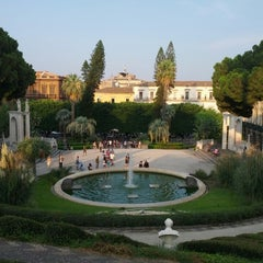 Photo taken at Villa Bellini by Stefano M. on 8/16/2013