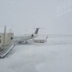 """Photo taken at The Eastern Iowa Airport (CID) by Christopher """"Scooter"""" C. on 2/23/2013"""