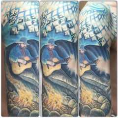 Photo taken at Trinity Tattoo Co. by Dave L. on 6/3/2015