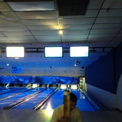 Photo taken at New City Bowl and Batting Cages by Douglas M. on 7/21/2012