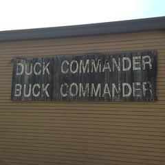 Photo taken at Duck Commander Headquarters by Hal S. on 8/28/2013