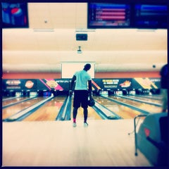 Photo taken at AMF Kegler's Lanes by Darnell W. on 1/5/2013