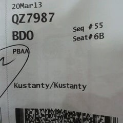 Photo taken at Polonia International Airport (MES) by kustanty chen on 3/19/2013