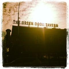 Photo taken at Green Door Tavern by Kenzie on 11/14/2012