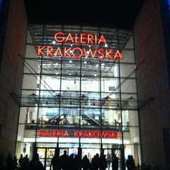 Photo taken at Galeria Krakowska by Dmitry K. on 11/14/2012