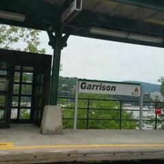 Photo taken at Metro North - Garrison Train Station by Ken P. on 6/23/2015