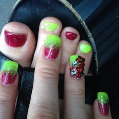 Photo taken at Polished Nails & Spa by Katie K. on 5/9/2014