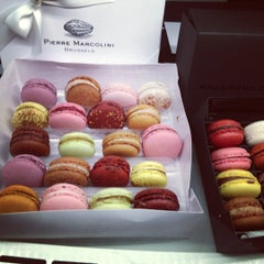Photo taken at Pierre Marcolini by Олеся О. on 11/19/2012