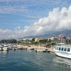 Photo taken at Club Nautico Sant Carles de la Rapita by Mery P. on 9/14/2014