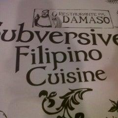 Photo taken at Restaurante Pia y Damaso by Vida B. on 4/25/2013