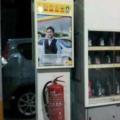 Photo taken at Shell by amyFiqLya on 10/15/2012