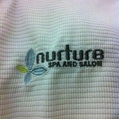 Photo taken at Nurture Spa & Salon by Mickey on 10/15/2012