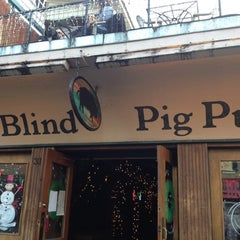 Photo taken at The Blind Pig Pub by Shana C. on 11/30/2012