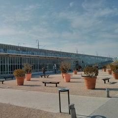 Photo taken at Gare SNCF d'Avignon TGV by Johnny W. on 2/25/2013
