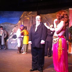 Photo taken at Pocket Sandwich Theatre by Troy M. on 9/7/2014